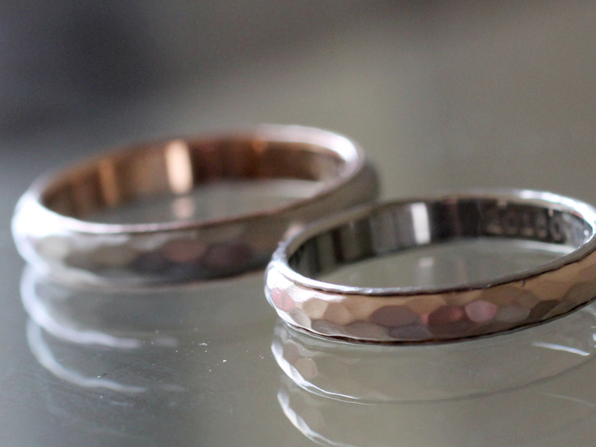 結婚指輪 色違い
