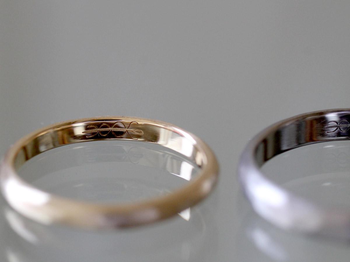 結婚指輪 刻印 オリジナル