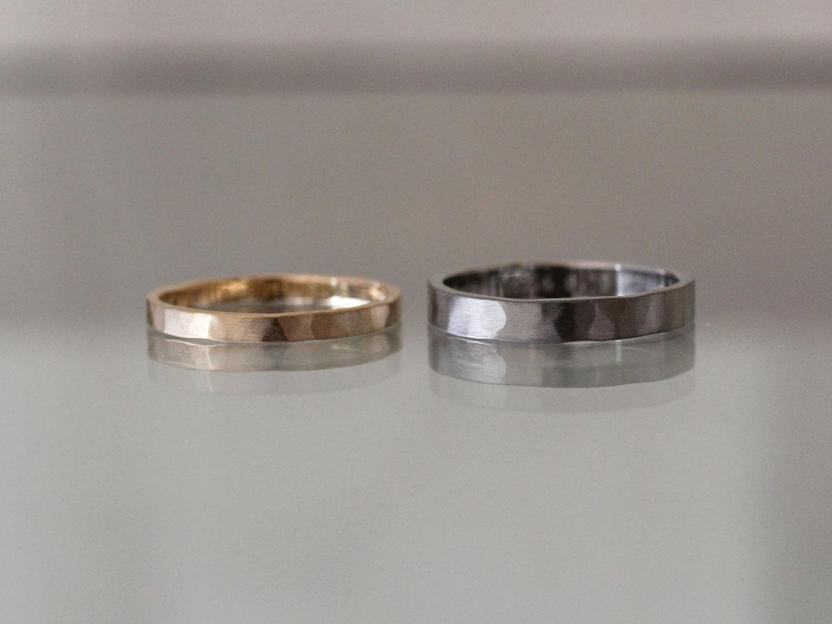 結婚指輪 歪み ゴールド