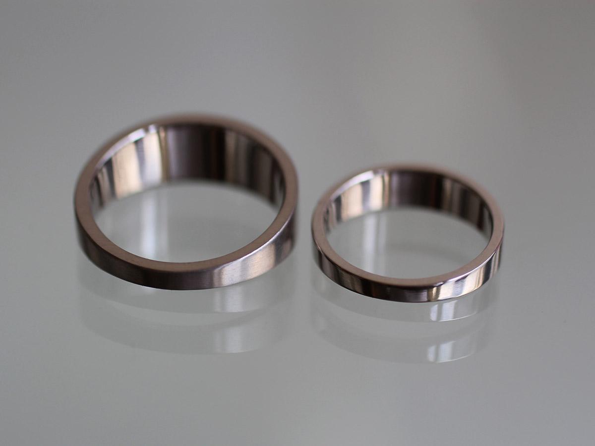 渋い 結婚指輪 クール
