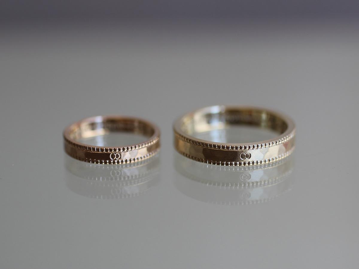 レッドゴールド グリーンゴールド 結婚指輪
