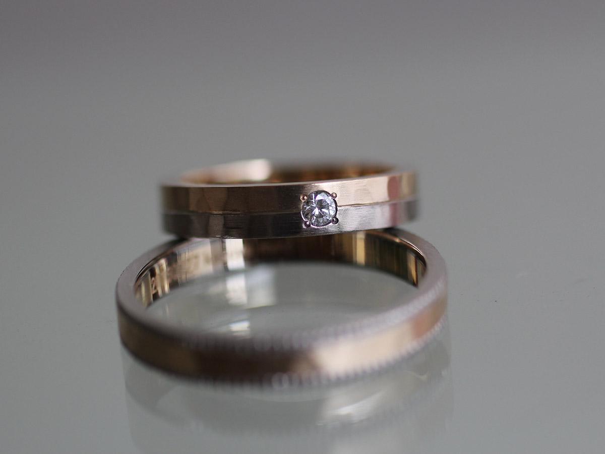 ダイヤモンド 結婚指輪 クール