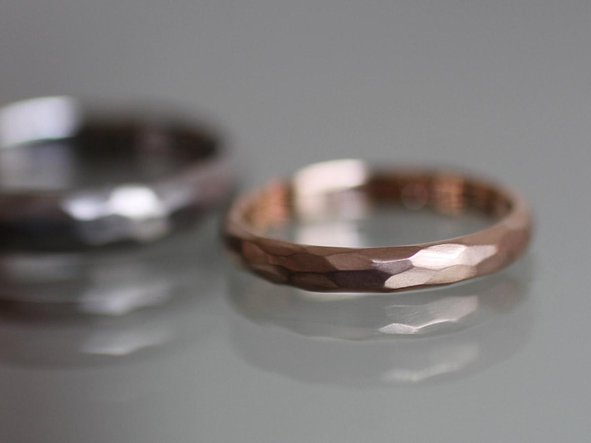 結婚指輪 シンプル マット