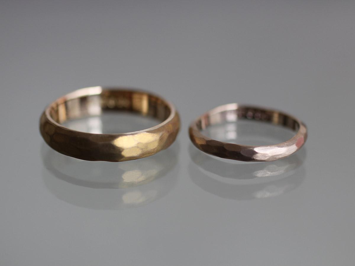 真鍮 結婚指輪 マリッジリング
