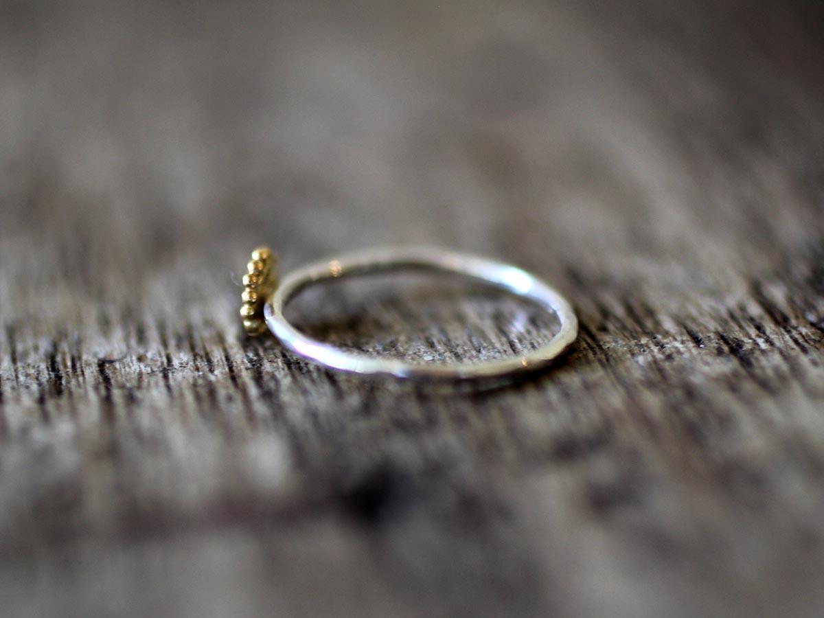 ダイヤモンド 婚約指輪 K18