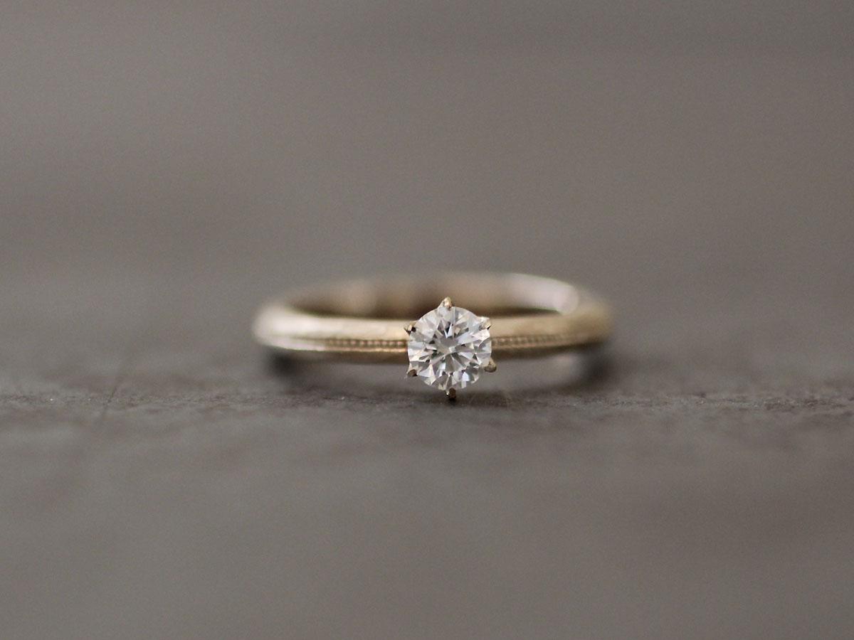 婚約指輪 オーダーメイド ハンドメイド