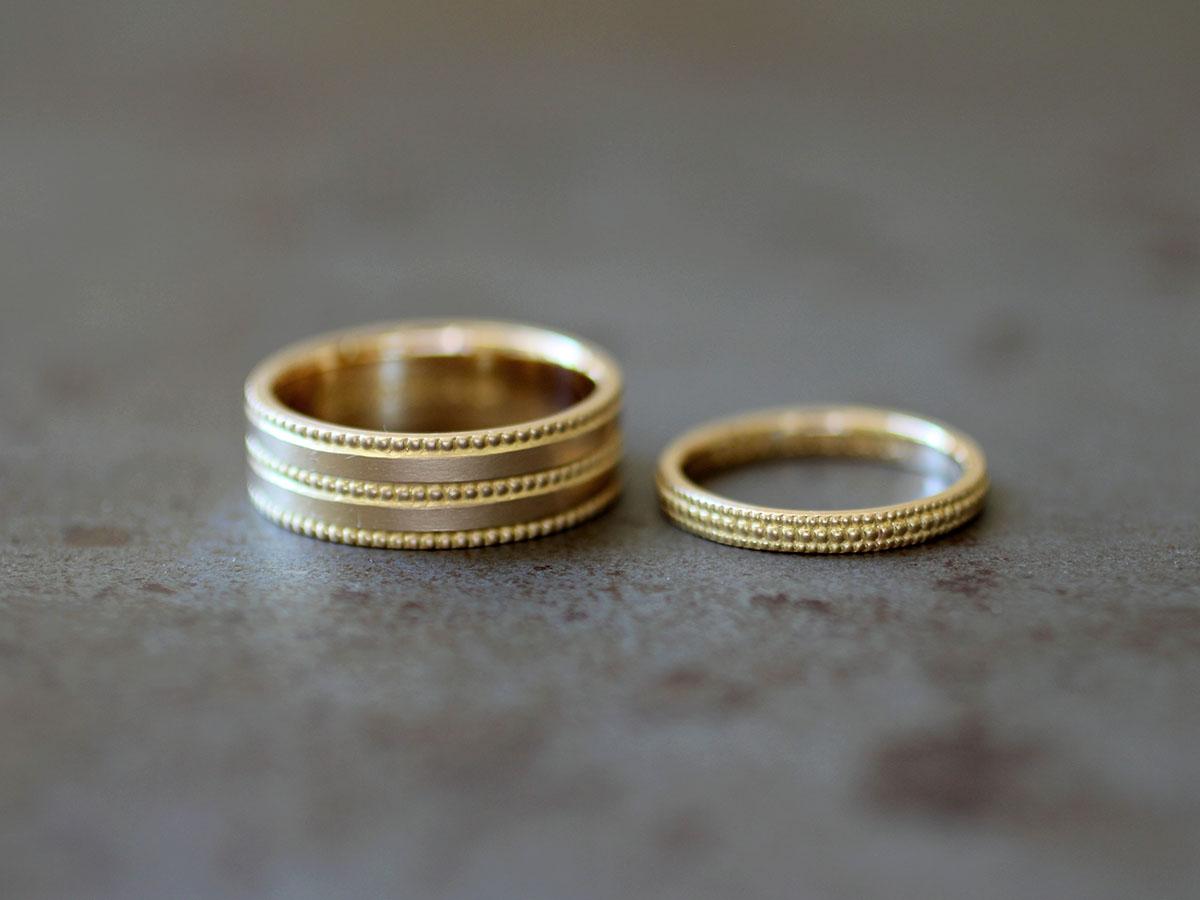 つぶつぶ リング 指輪