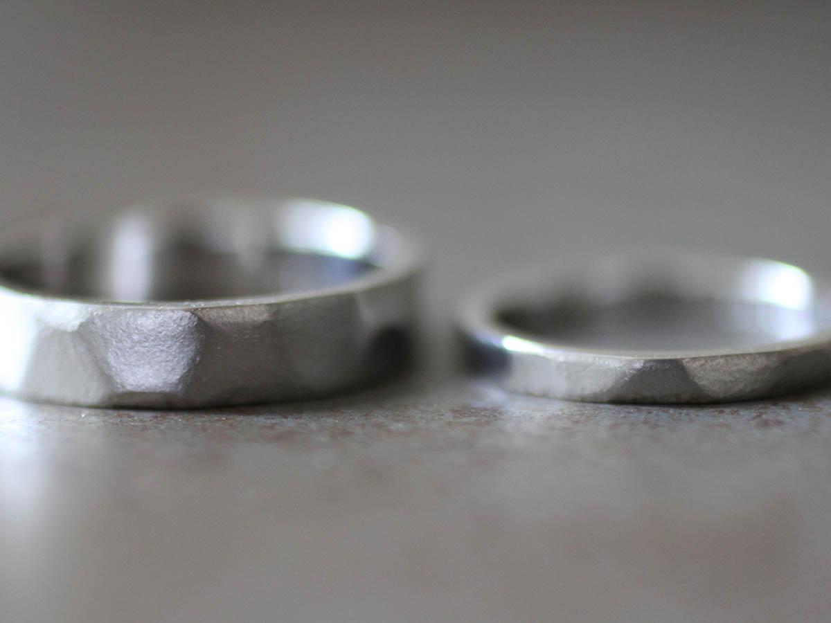 結婚指輪 質感 自然