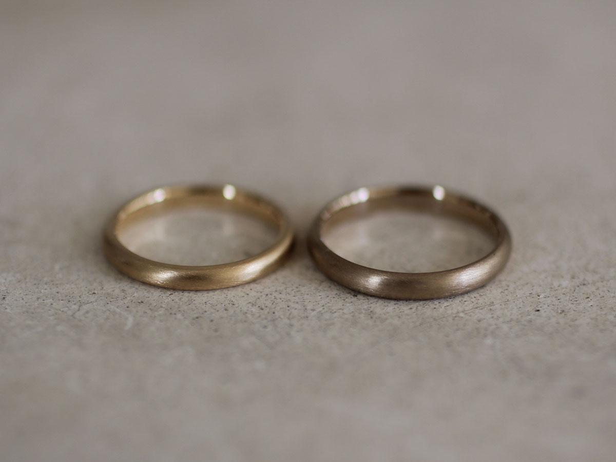 シンプル マリッジリング  結婚指輪
