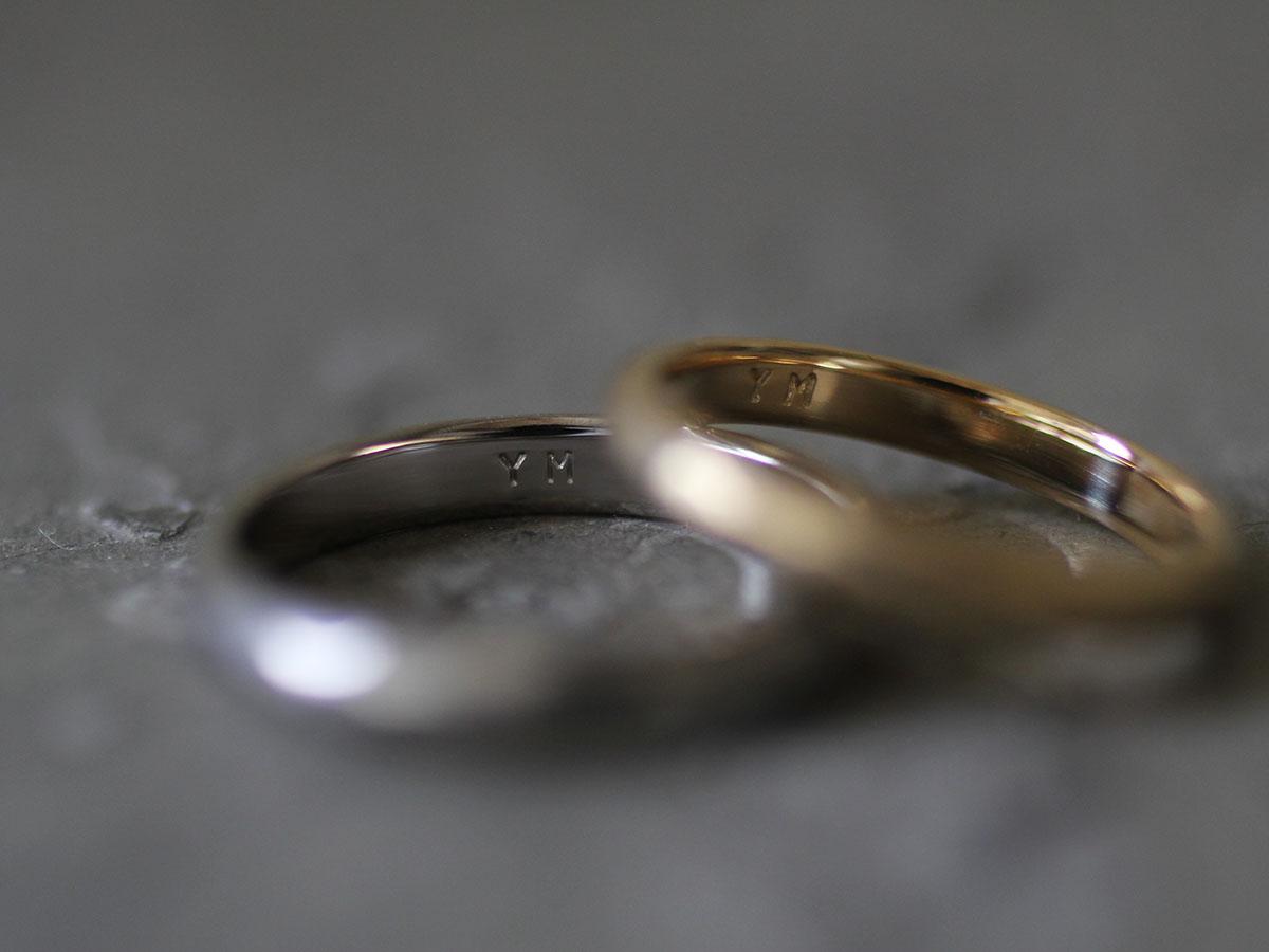 オーダー制作の結婚指輪
