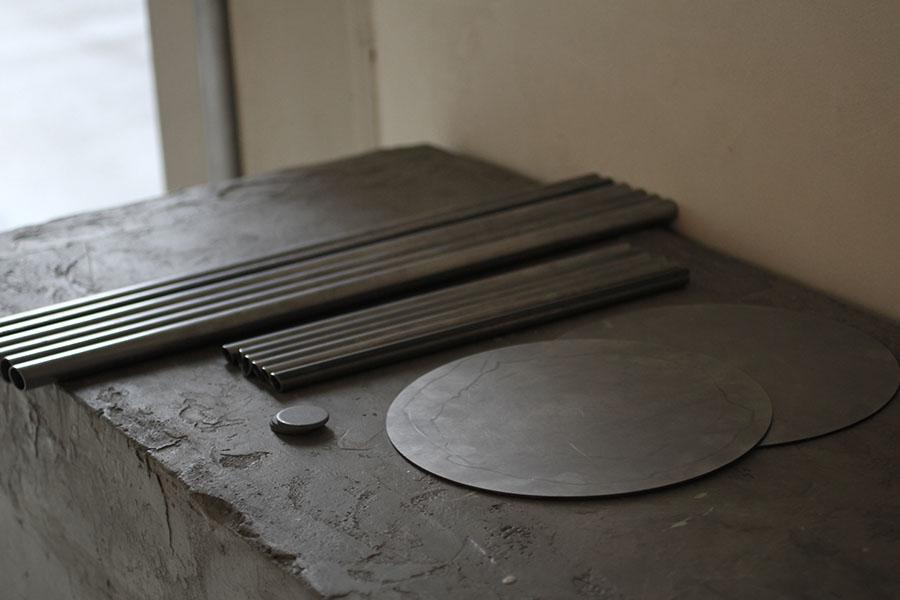 スツール制作用の鋼材