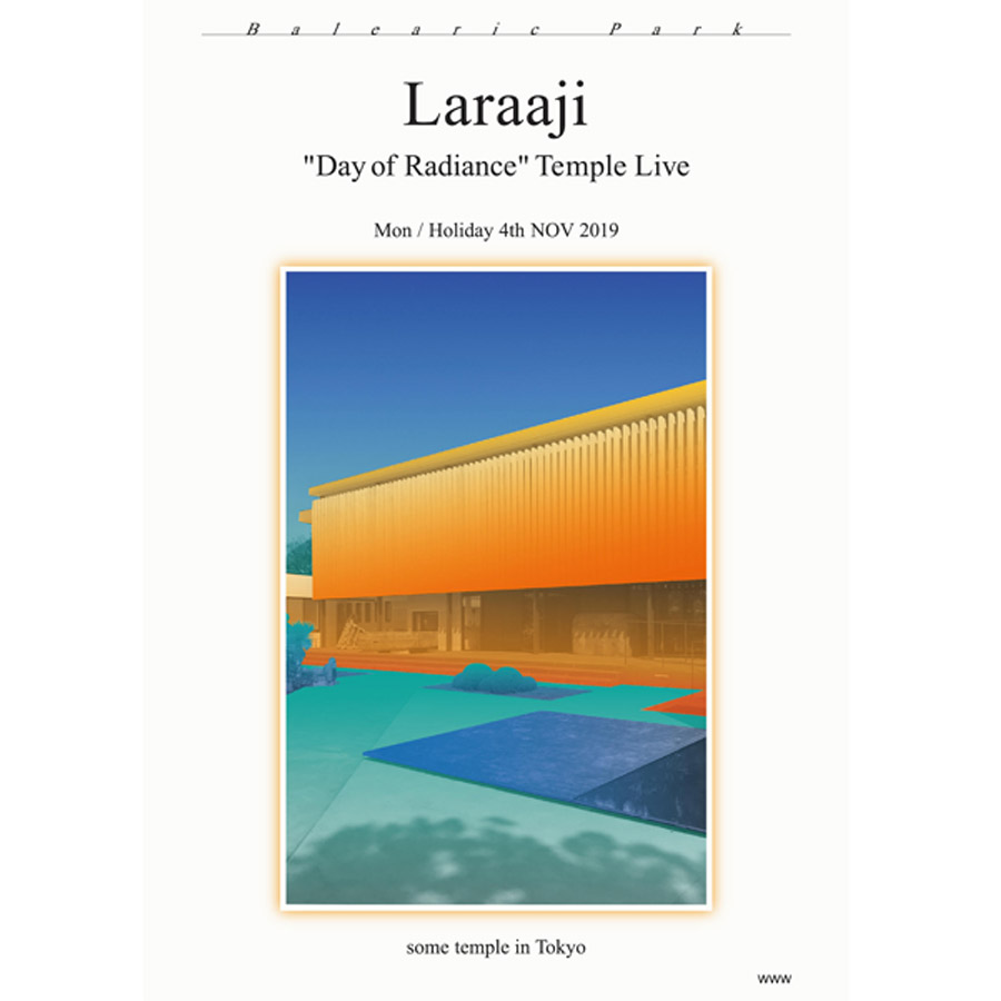 laraajiライブポスター