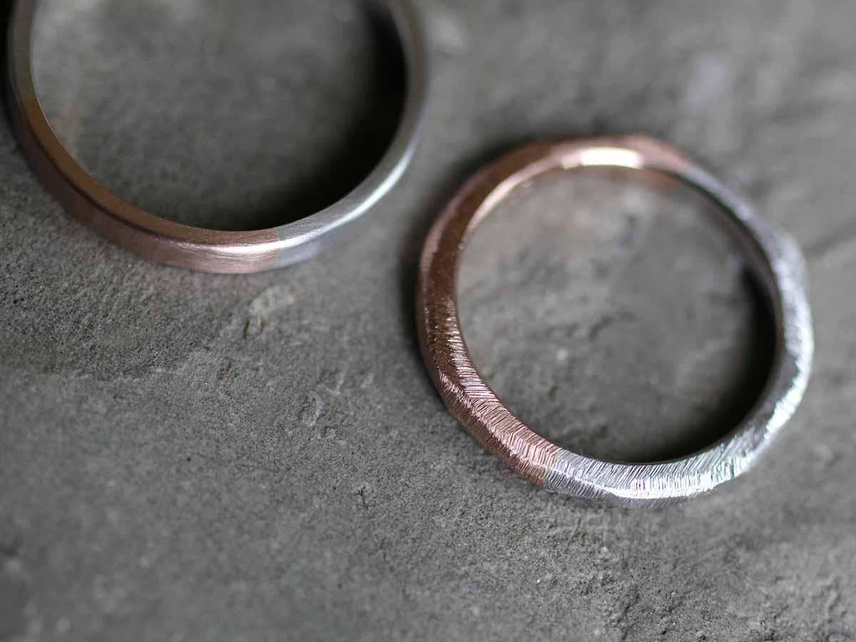 シックな結婚指輪