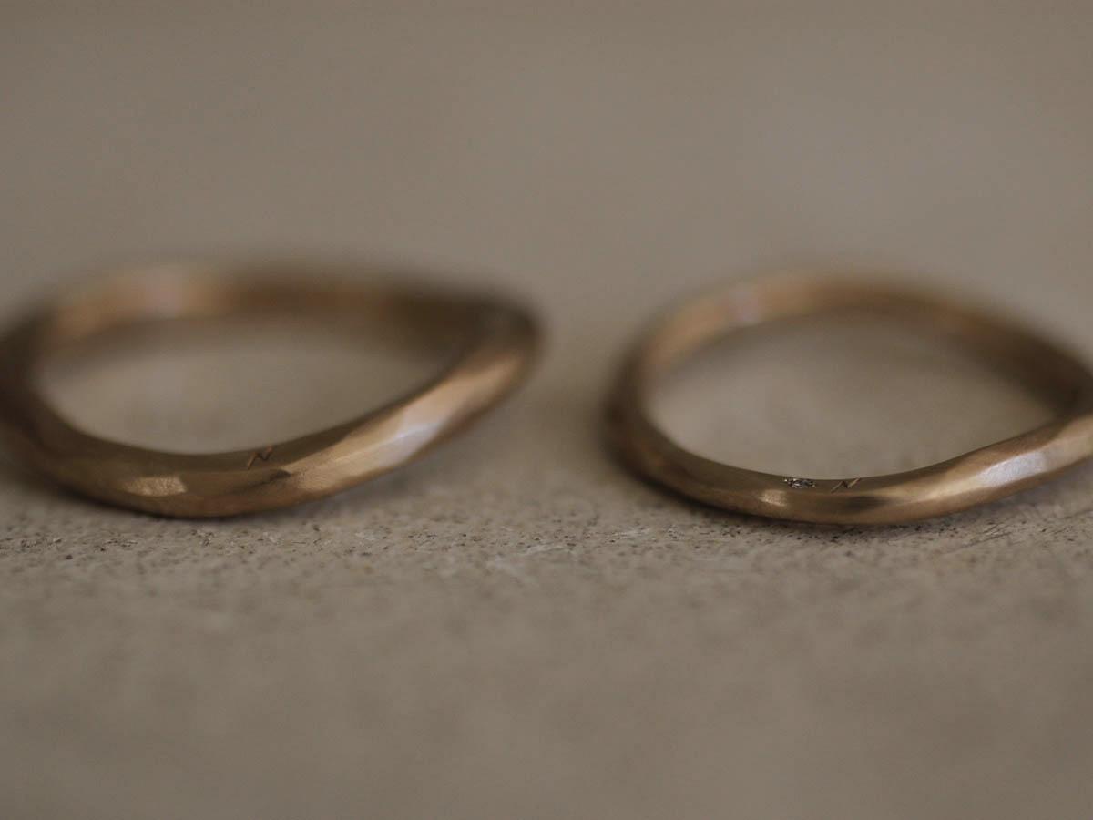 歪んだ結婚指輪