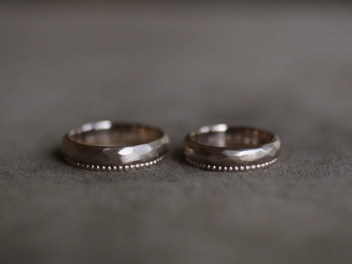 重厚感のある結婚指輪